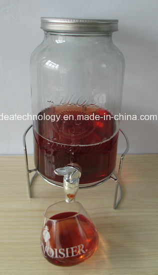 Empty Juice Bottles Deispenser Wholesale Drinking Water Glass pictures & photos