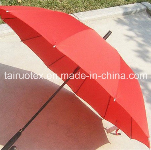 210t Waterproof Coating Microfiber Polyester Pongee Fabric for Umbrella