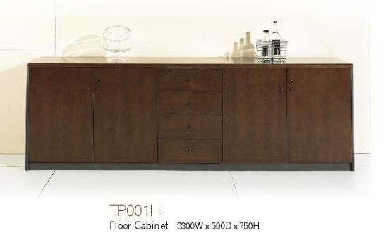 97c75fc525603 Wooden Office Furniture Long Floor Cabinet - China Floor Cabinet ...
