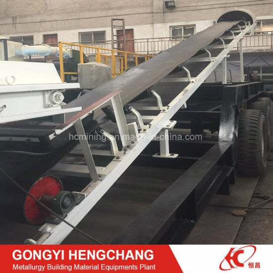 High Capacity Mobile Rubber Conveyor Belt Price pictures & photos