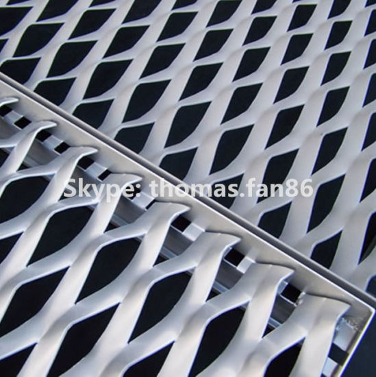 Aluminium Mesh for Curtain / Decoration Expanded Plate pictures & photos