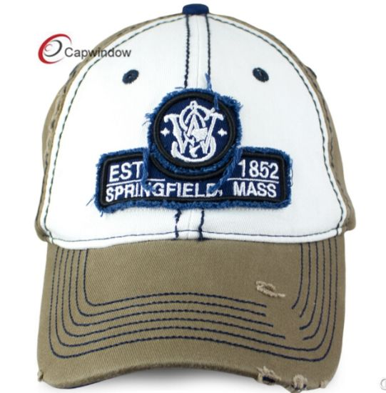 ceea8192701 China Washed Baseball Cap with Applique Logo on Sport Cap - China ...