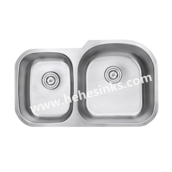 Undermount Kitchen Sink, Double Bowl Stainless Steel Sink, Handmade Sink, Sink pictures & photos