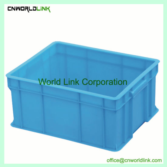 Moving Storage Stacking Logistics Plastic Transport Case with Handle & China Moving Storage Stacking Logistics Plastic Transport Case with ...