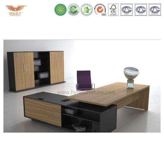 Office Desk Fashion Ceo Furniture Modern Manager Executive Table