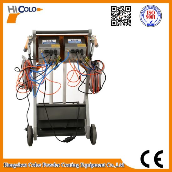 161s Intelligent Manual Powder Coating Machine (double unit)) pictures & photos