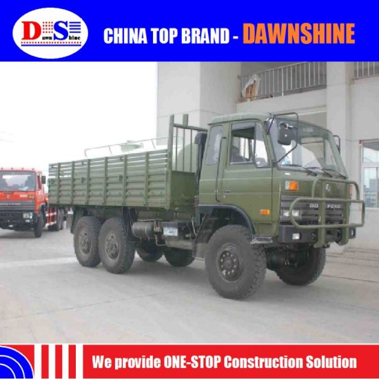 China off Road Military Truck 6X6 Armoured Personnel Carrier