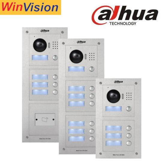 Dahua Brand Outdoor Station Building Video Intercom Alarm System Video Door Phone
