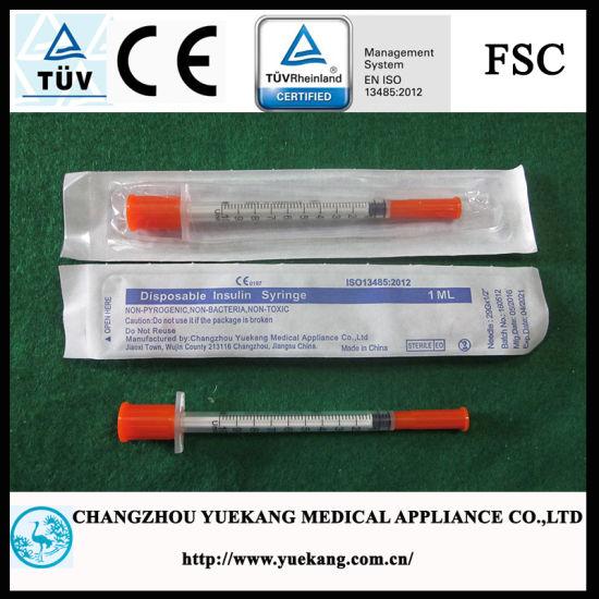 """U-100 Insulin Syringes 29g 1cc 1/2"""" 100/Box"""