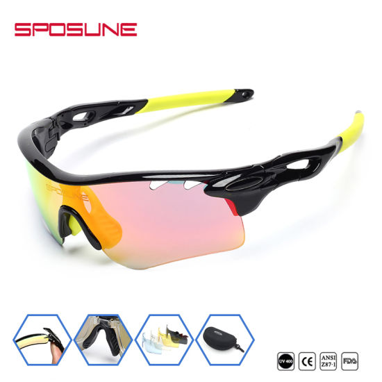 976417e608e2a Wholesale Custom Logo Sunglasses Cat 3 Cycling Riding Sports Eyewear UV400  Protection Glasses pictures   photos