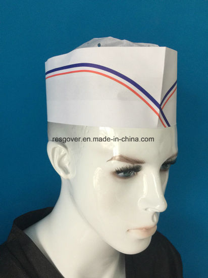 Disposable Size Adjustable Paper Chef Hat