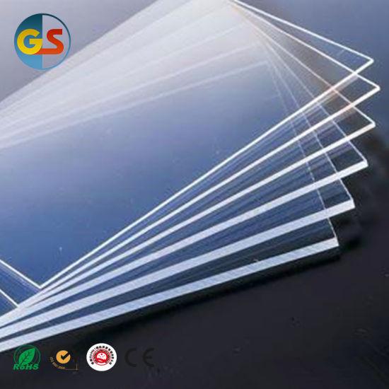 China Super Clear Plastic PVC Acrylic Sheet - China PMMA