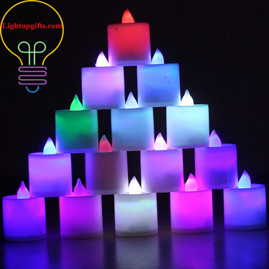 LED Color Lights Candle Romantic Candles Electronic Candles