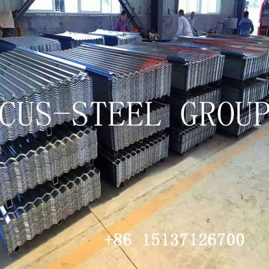 Regular Spangle Hot DIP/Dipped Galvanized Gi Corrugated Iron Steel Roofing Sheet