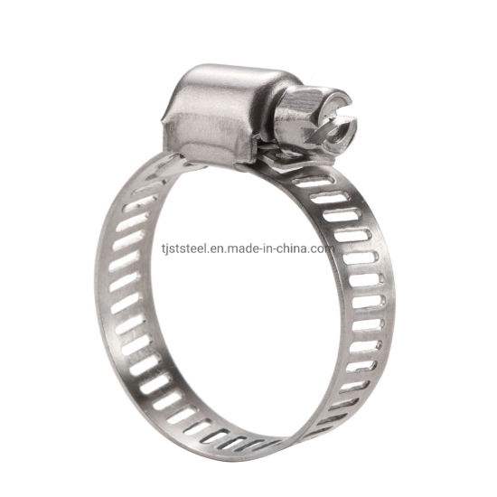 8mm Band Stainless Steel American Style Type Hose Clamps and Worm Drive Hose Clips