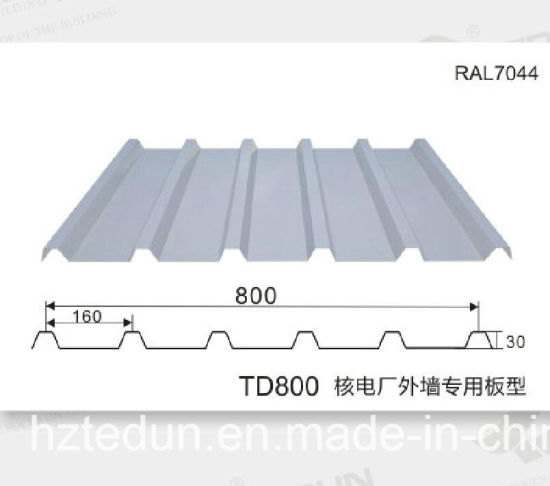 Corrugated Galvanized Steel Wall or Roofing