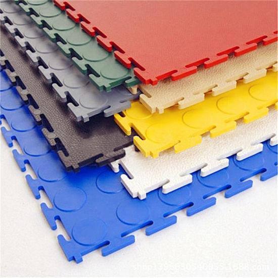 Wooden Texture Vinyl Floor Plastic Tile