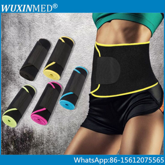 Colorful Adjustable Fitness Exercise Trimmer Belt Neoprene Waist Slimming pictures & photos
