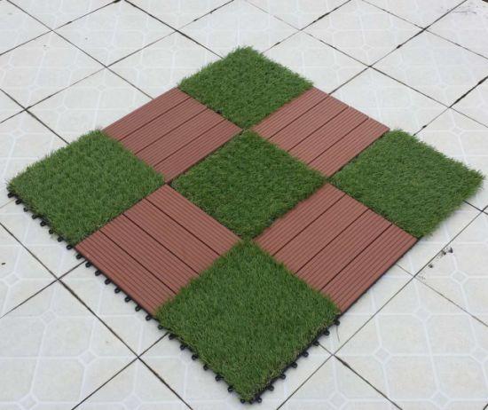 Outdoor Interlocking Plastic Floor Tiles