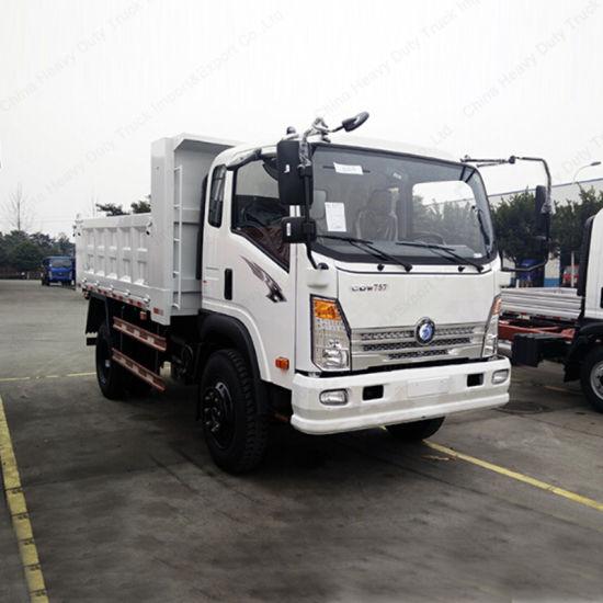 4X2 Mini Cdw Dump Truck Camion HOWO Tipper Truck Price for Sale