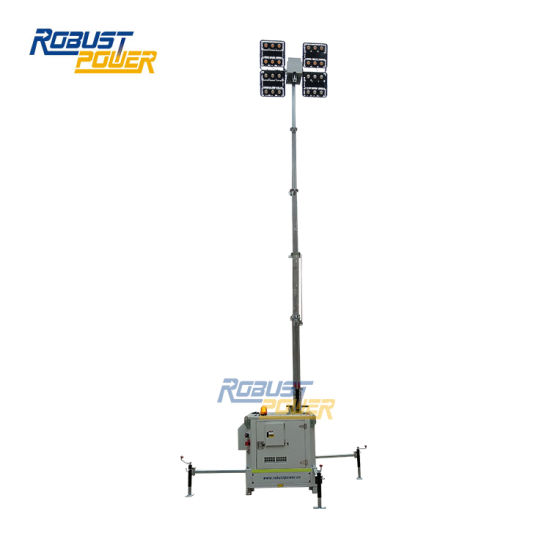 7m 4*480W LED Floodlight Mobile Diesel Light Tower pictures & photos