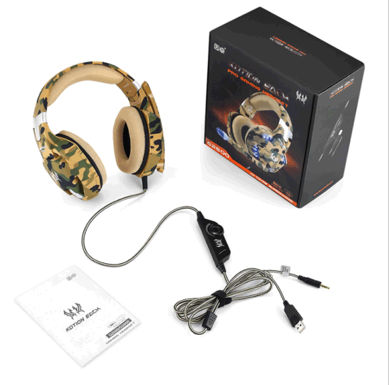 China Kotion Each G2600 Over Ear Headphones With Mic And Volume