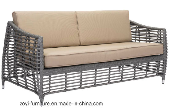 Modern Patio Outdoor Furniture Wicker Sofa