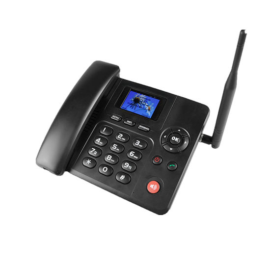 4G Volte Fixed Wireless Phone with SD Card SIM Card