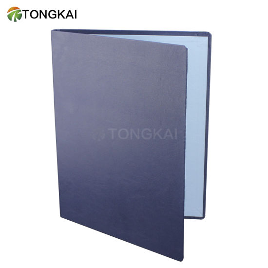 A4 Simple Cheap PU Leather File Folder