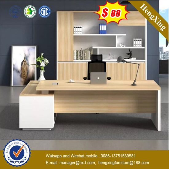 Wooden Furniture Staff Manager Room Furniture Office Desk (UL-MFC236) pictures & photos