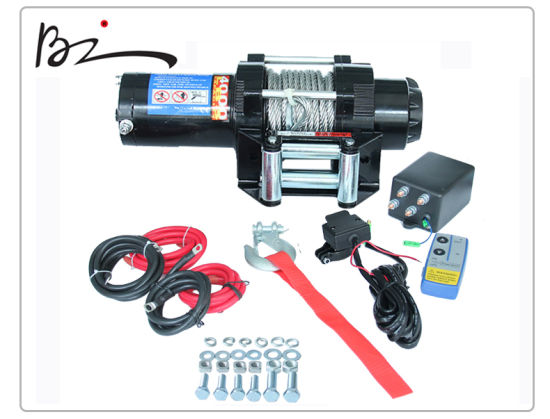 Power Winch ATV Winch 4000lb with Ce Approved