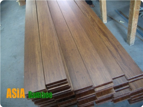 Tongue and Groove Strand Woven Bamboo Flooring