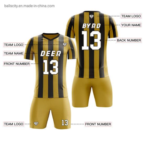 Wholesale Soccer Jersey Set Custom Jerseys Football Uniform