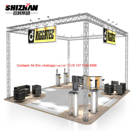 Lighting Trade Show Booth Truss