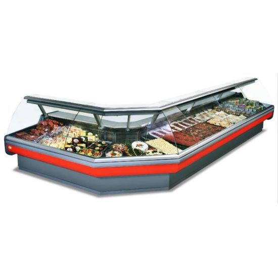 Hot Sell Meat Freezer Showcase Mear Freezer for Sale