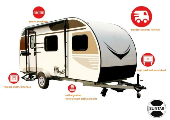 6.5 Meter Caravan RV Trailer for Family Travel pictures & photos