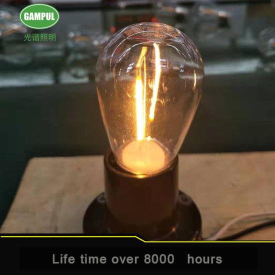 Factory S14 LED Filament Bulb for Energy Saving