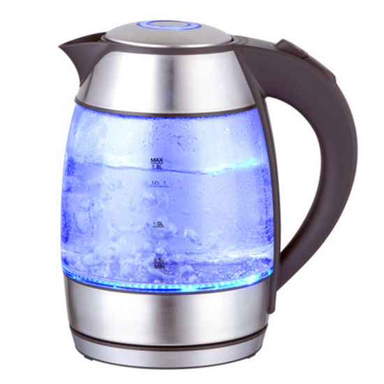1.8 Liter Glass Electric Water Kettle with Blue LED Light