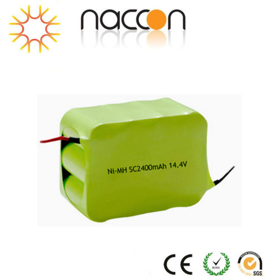Factory 14.4V Power Supply Sc 2400mAh NiMH Rechargeable Battery Pack pictures & photos