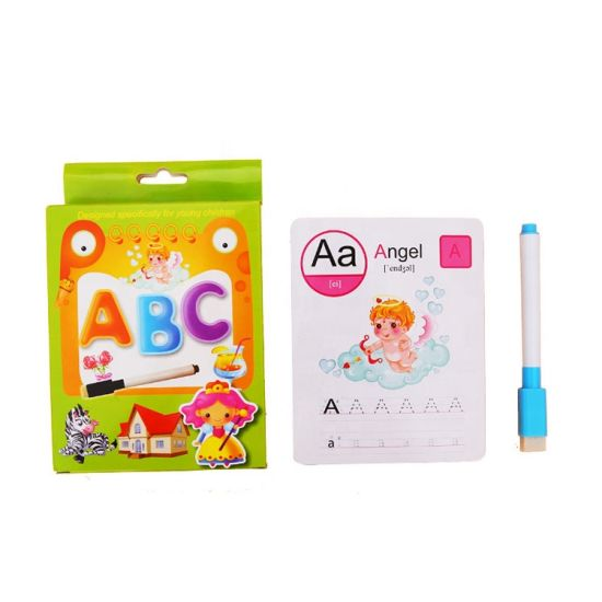 Preschool Toys Custom Educational Learning Cards Alphabet Letter Flash Cards pictures & photos