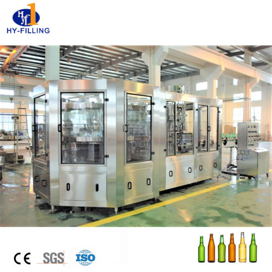 Hy-Filling 3 in 1 Pet Bottle Glass Bottle Filling Machine