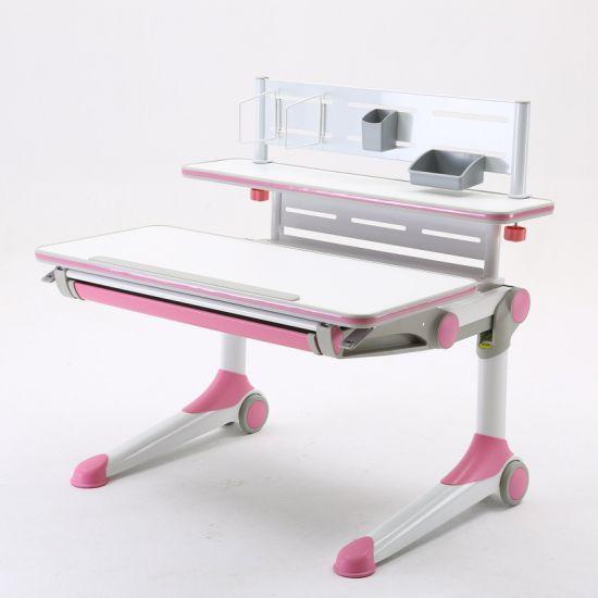 Dispatch New Design Environment-Friendly Adjustable Desk Children Furniture Set
