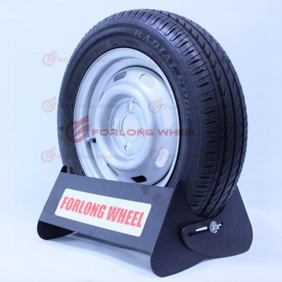 13inch ECE Certificate Light Flat Trailer Steel Wheel and Tyre