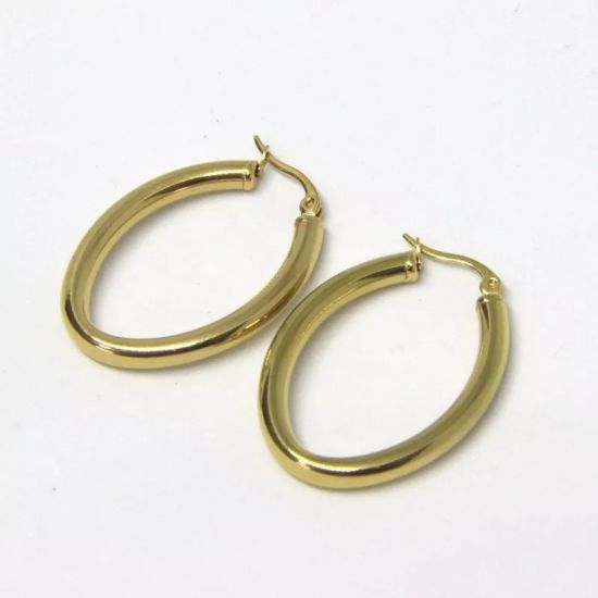 China Smooth Circle Earrings