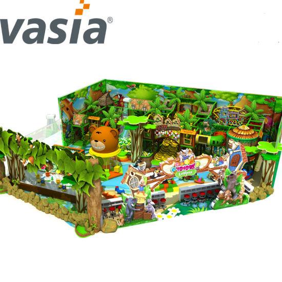 Customized Children Indoor Castle, Kids Playground, New Castle Children Playground Theme Park Design