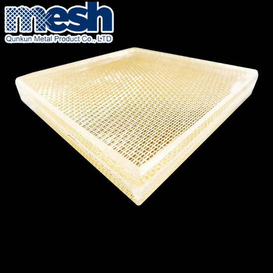 Architectural Stainless Steel Metal Mesh for Laminated Glass