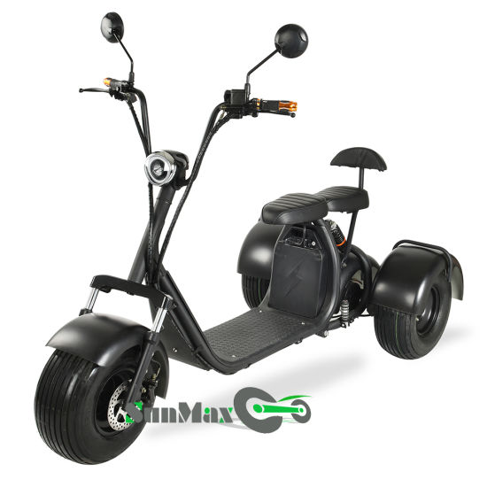 Wide Tyre Tire 3 Wheel Adult E -Scooters pictures & photos