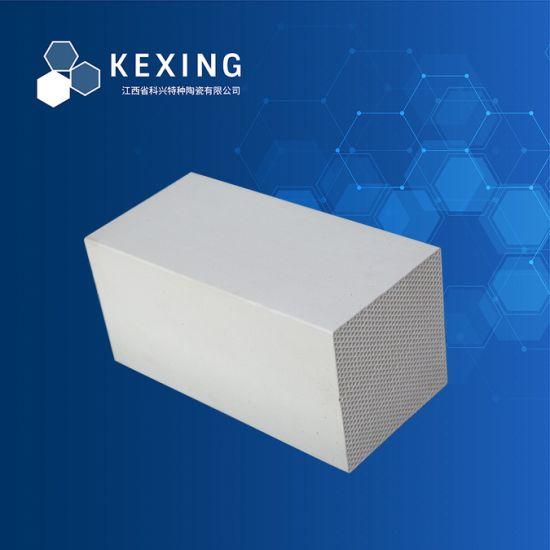 Alumina, Cordierite, Mullite, Corundum Honeycomb Ceramic Heat Exchanger for Rto, Rco
