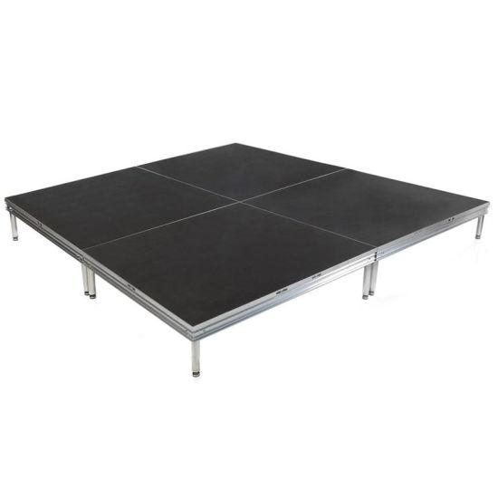 Wholesale Portable Aluminum Truss Use Black Color Outdoor Stage Platform