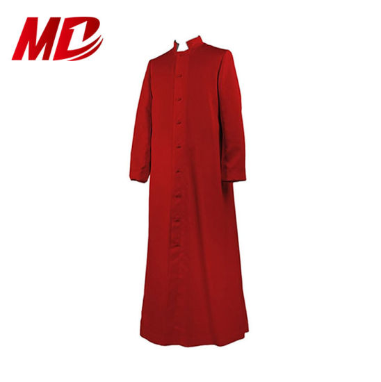 Unique Style Adult's Clergy Cassock in Red for Wholesale